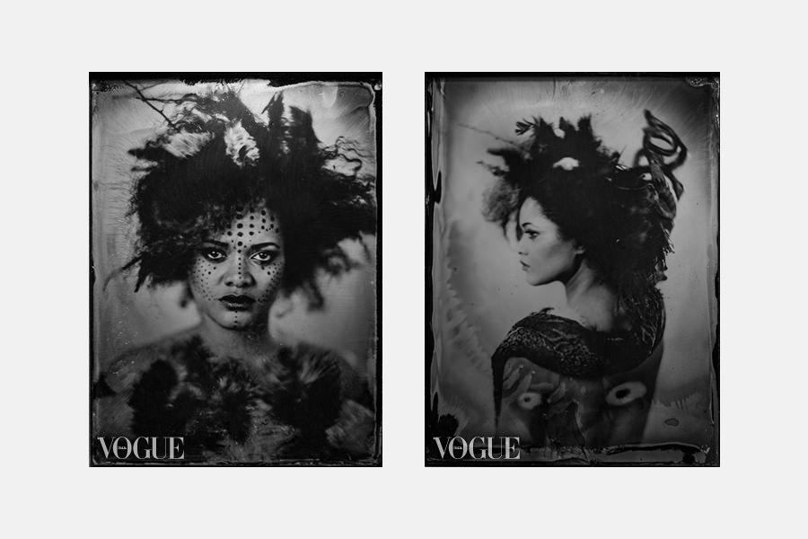 roots mokry kolodion publikacja Vogue Italy 5czwartych Marcin Rusinowski
