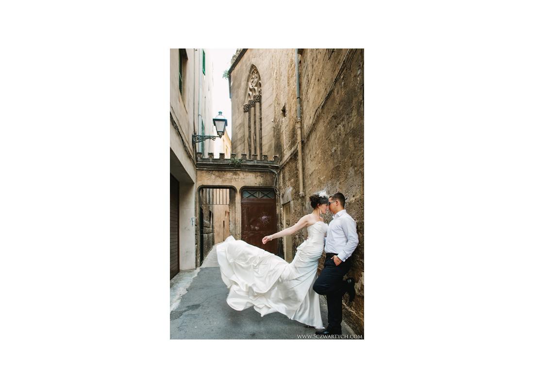 zdjęcia ślubne na Majorce Palma de Mallorca sesja ślubna w Hiszpanii uroczystość ślub wesele fotograf ślubny Warszawa Hiszpania Majorka
