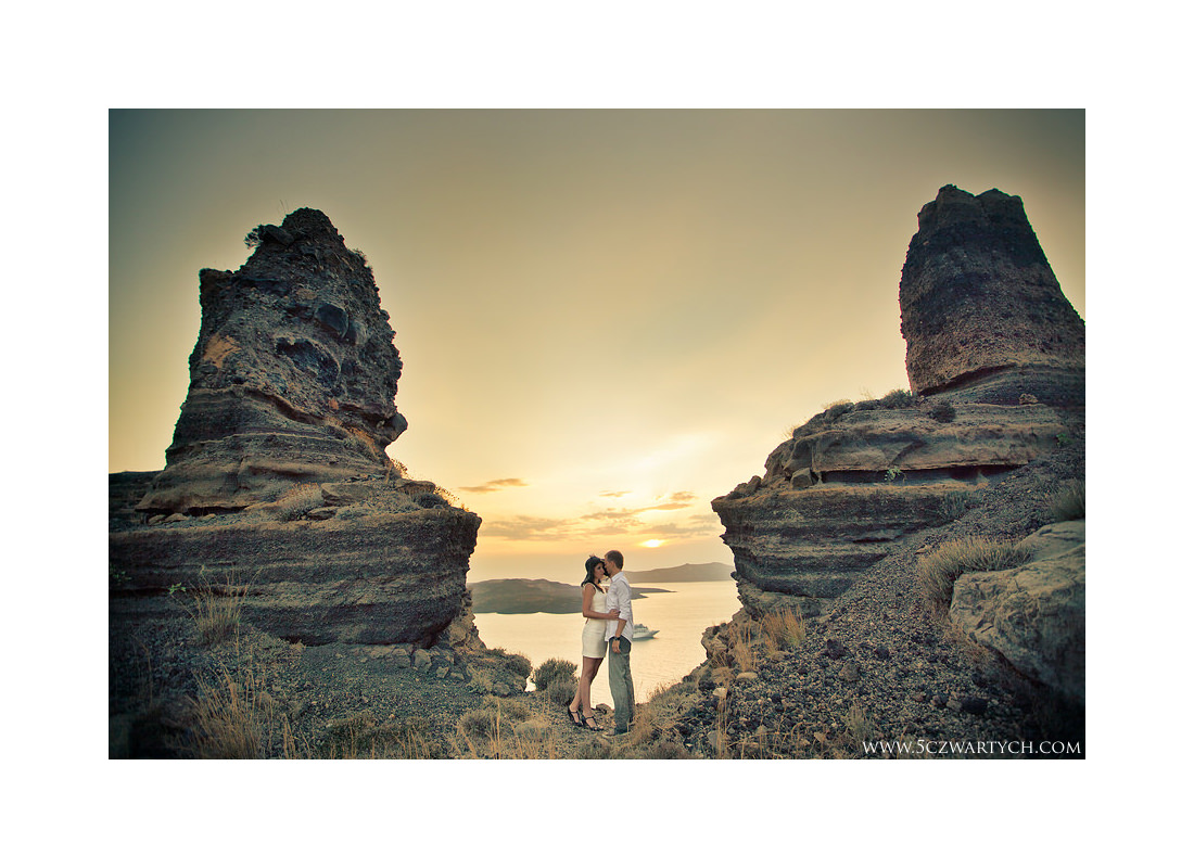 Santorini wedding session sesja ślubna zdjęcia ślubne reportaż ślubny 5czwartych Grecja Greece