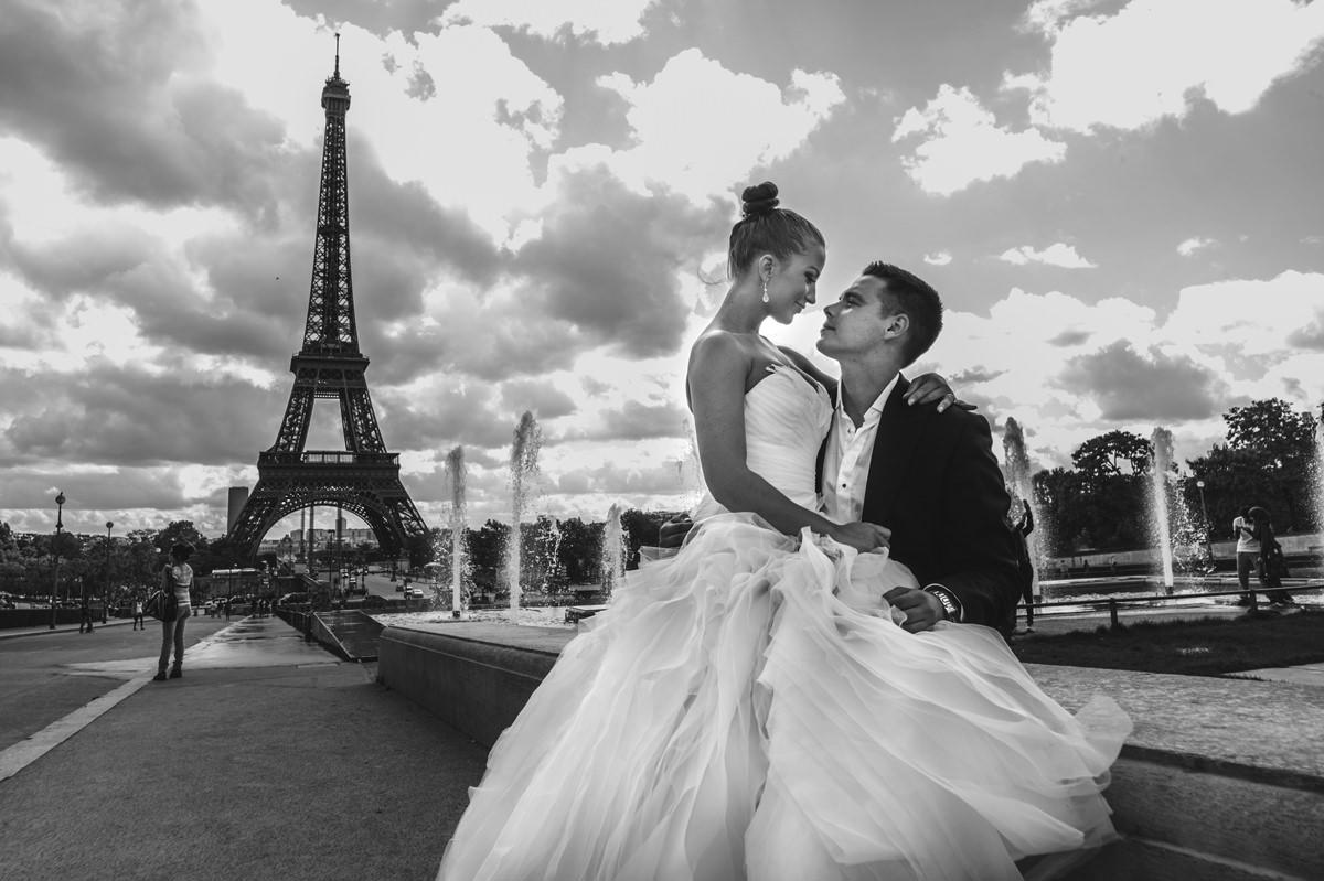 sesja w Paryżu sesja ślubna zdjęcia ślubne w Paryżu 5czwartych