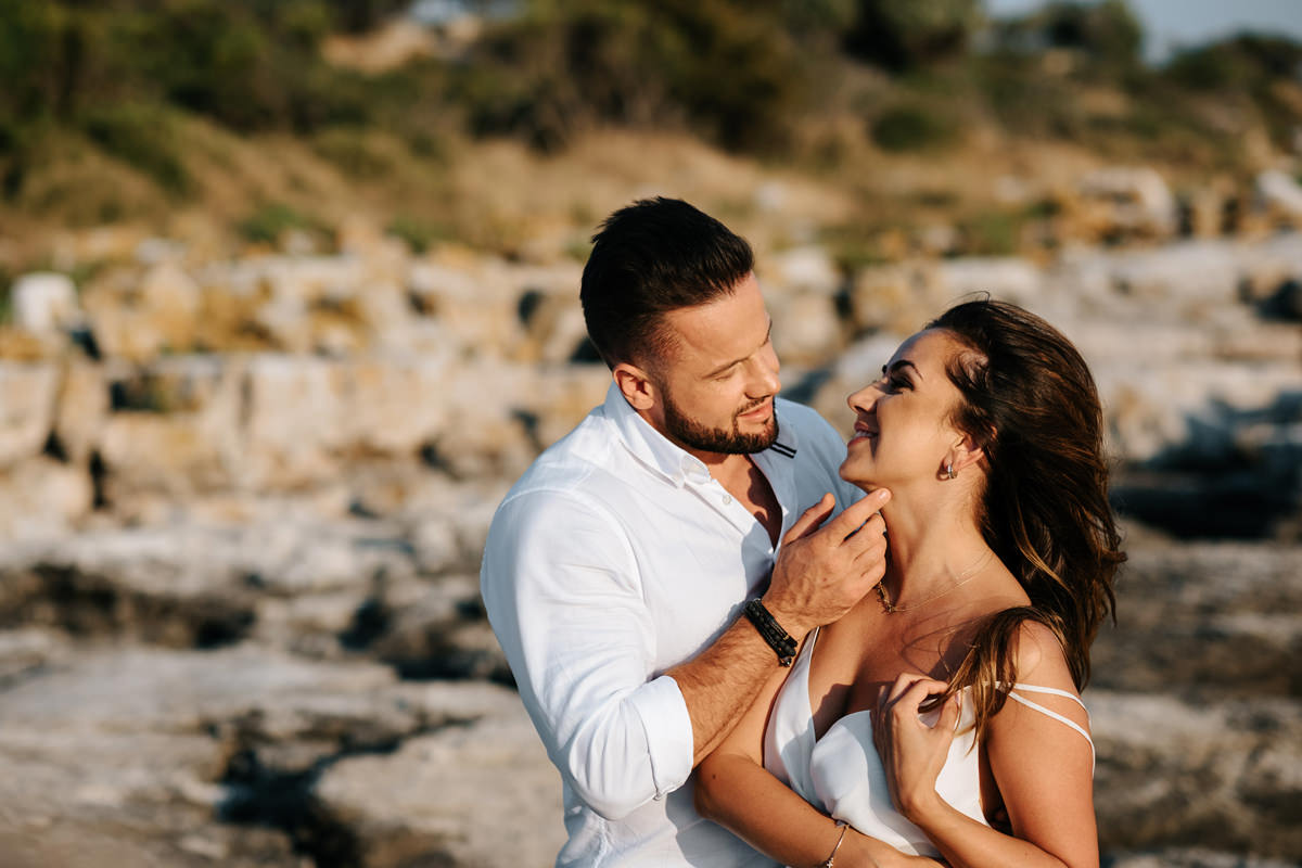 sesja w Chorwacji, sesja przed ślubem, sesja narzeczeńska, plener w Chorwacji, sesja ślubna, zdjęcia ślubne, 5czwartych